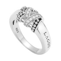 Lagos_Sterling_Silver_Diamond_Caviar_Embrace_Ring