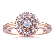 Sethi_Couture_14K_Rose_Gold_Brown_&_White_Diamond_Flower_Ring,_0.58cttw
