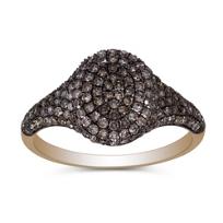 14K_Rose_Gold_Brown_Diamond_Ring