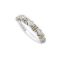 Lagos_Sterling_Silver_&_18K_Yellow_Gold_Diamond_Stacking_Ring,_0.10cttw