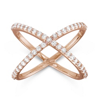 14K_Rose_Gold_Diamond_X_Ring