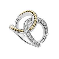 Lagos_Sterling_Silver_&_18K_Yellow_Gold_Enso_Diamond_Circle_Ring