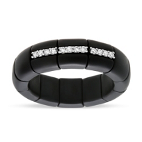 Roberto_Demeglio_18K_White_Gold_&_Black_Ceramic_3_Section_Diamond_Ring