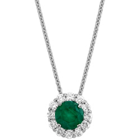 18K_White_Gold_Emerald_and_Diamond_Pendant