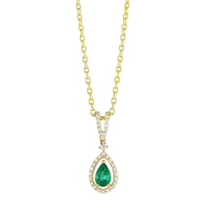 14K_Yellow_Gold_Pear_Emerald_and_Round_Diamond_Pendant