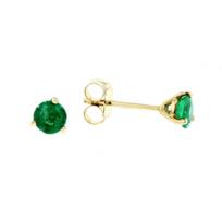 14K_Emerald_Stud_Earrings