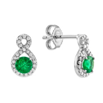 14K_White_Gold_Emerald_and_Diamond_Swoop_Earrings