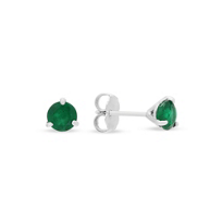 18k_white_gold_emerald_stud_earrings