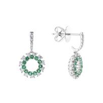 14k_white_gold_emerald_&_diamond_dangle_earrings