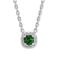14K_White_Gold_Emerald_and_Diamond_Halo_Necklace