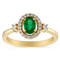 14K_Yellow_Gold_Oval_Emerald_and_Diamond_Ring