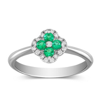 14K_White_Gold_Emerald_and_Diamond_Flower_Ring
