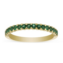 14K_Yellow_Gold_Round_Emerald_Band