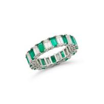 18k_white_gold_emerald_cut_emerald_&_diamond_eternity_band________
