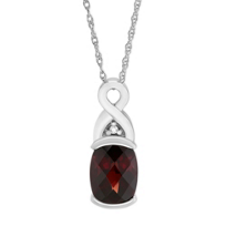 14K_White_Gold_Cushion_Garnet_&_Diamond_Swirl_Pendant