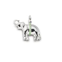 Monica_Rich_Kosann_Sterling_Silver_Tsavorite_Garnet_Elephant_Pendant