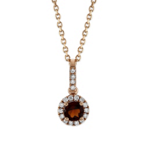 14K_Rose_Gold_Garnet_and_Round_Diamond_Halo_Pendant