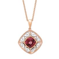 14K_Rose_&_Whit_Gold_Rhodolite_Garnet_and_Diamond_Pendant