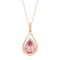 14k_rose_gold_pear_shaped_garnet_and_round_diamond_pendant