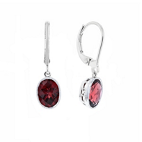 14k_white_gold_oval_checkerboard_garnet_milgrain_drop_earrings