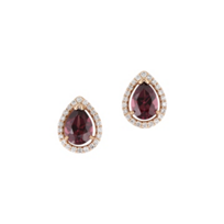 14K_Rose_Gold_Diamond_Halo_&_Rhodolite_Garnet_Pear_Shaped_Earrings_
