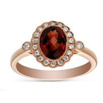 14K_Rose_Gold_Oval_Garnet_&_Round_Diamond_Halo_Ring,_0.17cttw