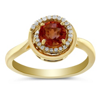 14K_Yellow_Gold_Garnet_and_Round_Diamond_Swirl_Ring