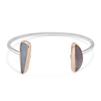 Melissa_Joy_Manning_Sterling_Silver_Boulder_Opal_&_Purple_Agate_Cuff_Bracelet
