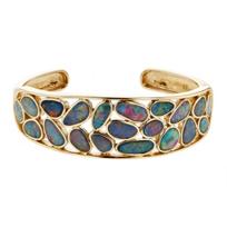 14k_yellow_gold_opal_doublet_bezel_set_tapered_cuff_bracelet