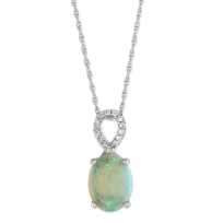 14K_White_Gold_Opal_and_Diamond_Loop_Pendant