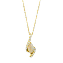 14K_Yellow_Gold_Marquise_Opal_and_Diamond_Pendant