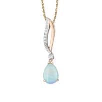 14K_Rose_Gold_Diamond_Pear_Shaped_Opal_Pendant_________