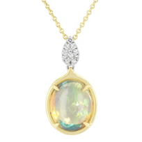 18k_yellow_&_white_gold_oval_cabochon_&_diamond_pendant,_17""
