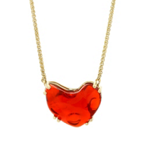 """14K_Yellow_Gold_Fire_Opal_18""""_Necklace"""