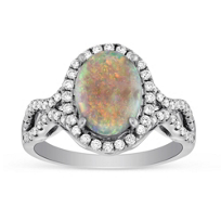 18K_White_Gold_Oval_Opal_&_Diamond_Ring______________