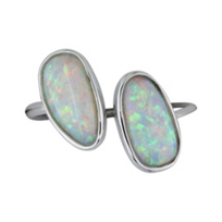 14K_White_Gold_Opal_Cuff_Ring________________________