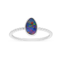 14K_White_Gold_Opal_Doublet_Ring