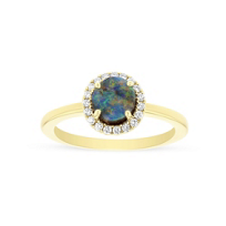 14k_yellow_gold_boulder_opal_&_diamond_halo_ring
