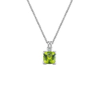 14K_White_Gold_Cushion_Peridot_and_Round_Diamond_Pendant
