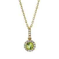14K_Yellow_Gold_Peridot_and_Round_Diamond_Halo_Pendant