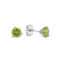 14K_White_Gold_Round_Peridot_Stud_Earrings,_5mm