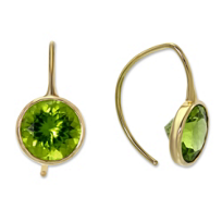 Toby_Pomeroy_14K_Yellow_Gold_Peridot_Comet_Earrings