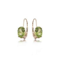 14k_yellow_gold_oval_peridot_leverback_drop_earrings