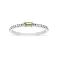 14K_White_Gold_Baguette_Peridot_and_Round_Diamond_Ring