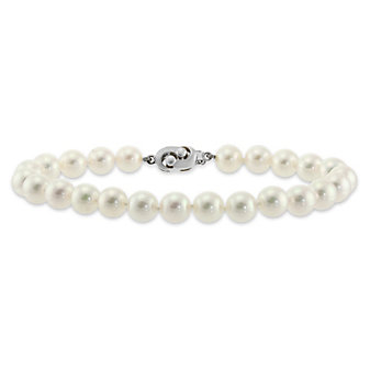 Tara Pearls 14K White Gold 8x8.5mm Cultured Pearl Bracelet