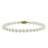 14K_Yellow_Gold_6.5x7mm_White_Cultured_Pearl_Bracelet
