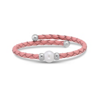 Stainless_Steel_and_Freshwater_Cultured_Pearl_Pink_Leather_Coil_Bracelet