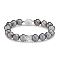 14K_White_Gold_Tahitian_Cultured_Pearl_and_Diamond_Bracelet