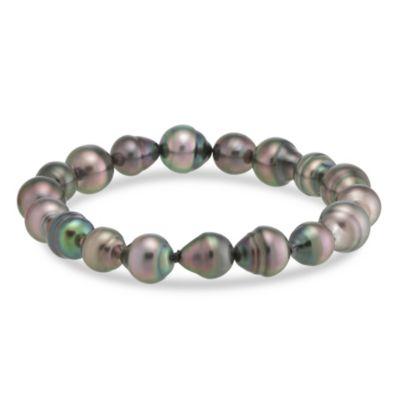 Tara Pearls Tahitian Cultured Pearl Stretch Bracelet