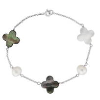 Sterling_Silver_White_Freshwater_Cultured_Pearl,_Black_and_White_MOP_Clover_Bead_Bracelet